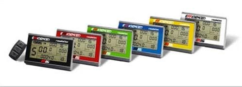 QB BIkes ofrece con alguno de sus kits la posibilidad de personalizar este display con caratulas de colores.
