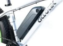 Batería en el cuadro FT de Ciclotek
