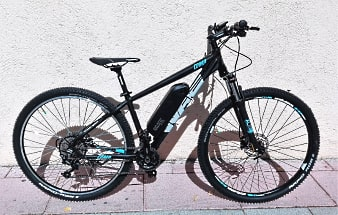 Bicis de montaña convertidas en eléctricas mediante un kit