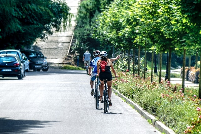 La bici eléctrica contribuye a hacer un entorno más agradable