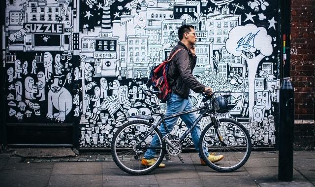 La bici es un medio de transporte nada estresante