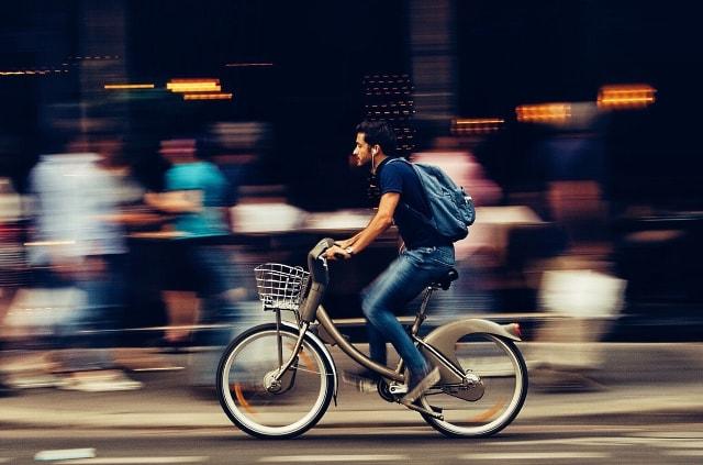 La bici no da pereza. Siempre apetece,