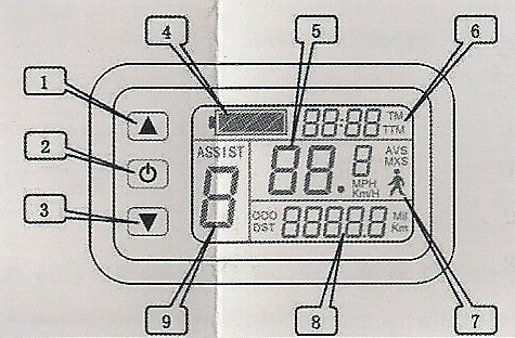 Display LCD 1