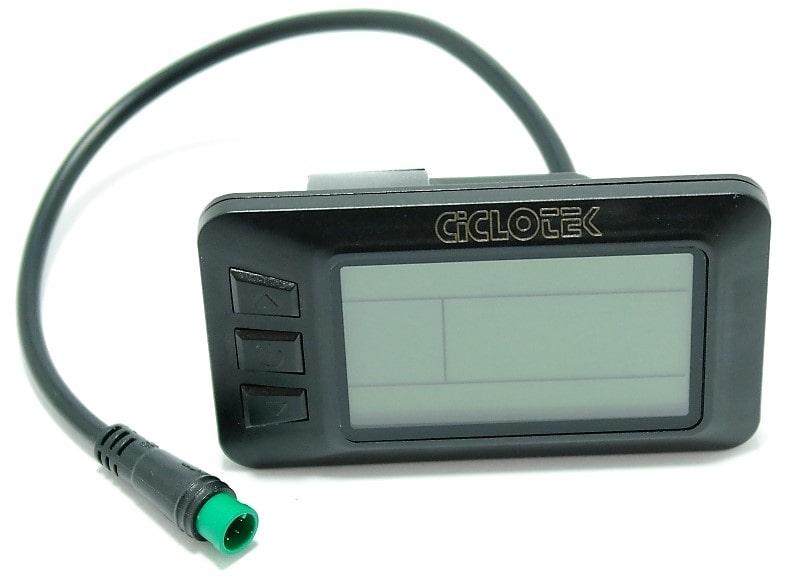 El nuevo display LCD 5 para bicicleta eléctrica