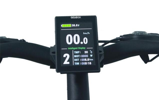 Pantalla a color LCD5X para bicicleta eléctrica